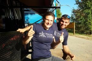 wisconsin canoe company t-shirt