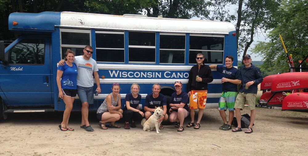 Wisconsin Canoe Company customers